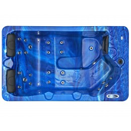 Jacuzzi spa exterior SPAtec 300B azul
